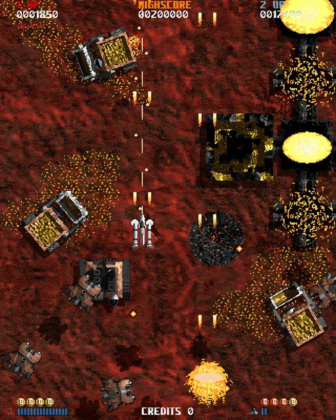 弹幕射击游戏考古:有关《恶魔之星》的传奇故事